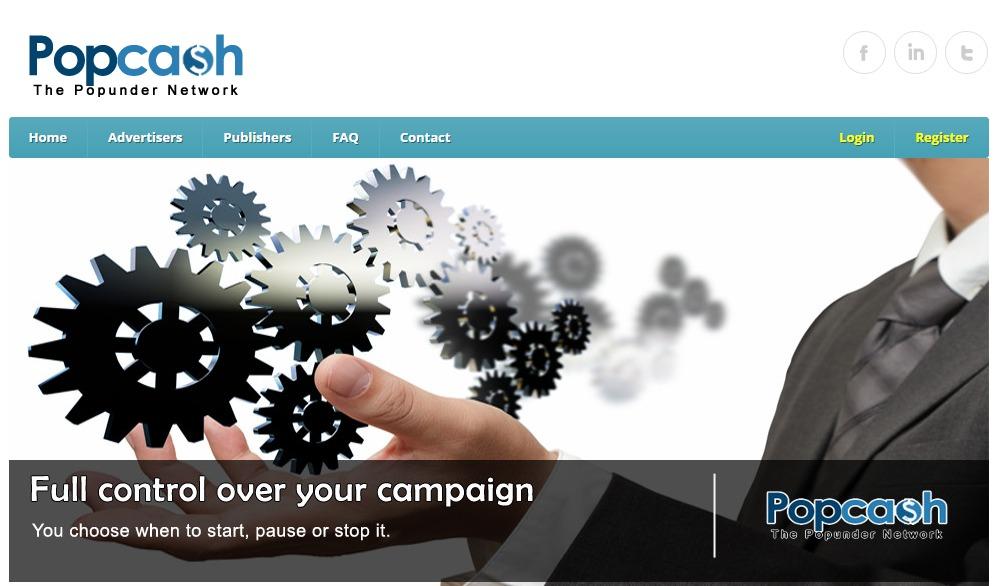 PopCash affiliate network