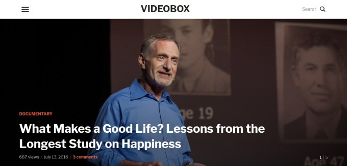 VideoBox – Video Theme for WordPress