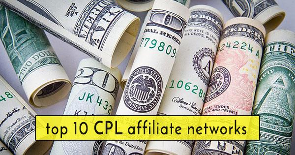make money online CPL affiliate networks