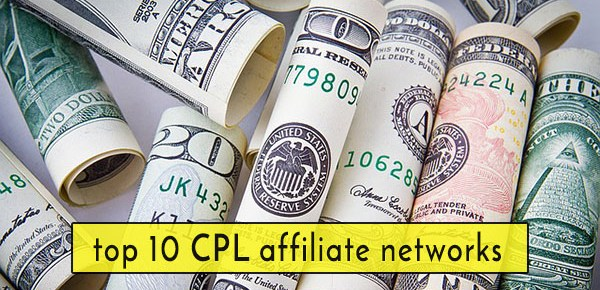 List of 10 best CPL Affiliate network