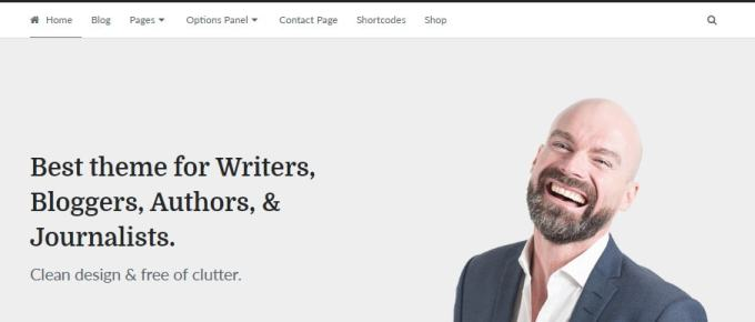 Writer Theme by MyThemeShop | A WordPress theme for Authors