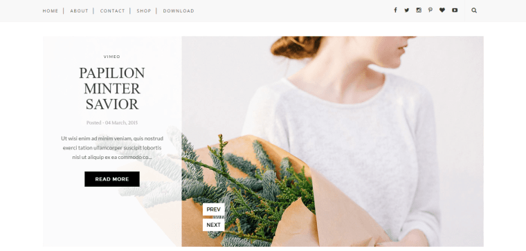 Sugar Blogger Template