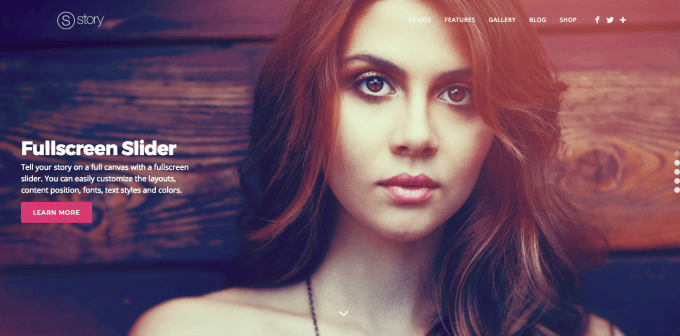 Story WordPress Theme