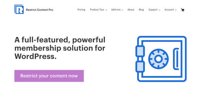Restrict Content Pro Membership Plugin