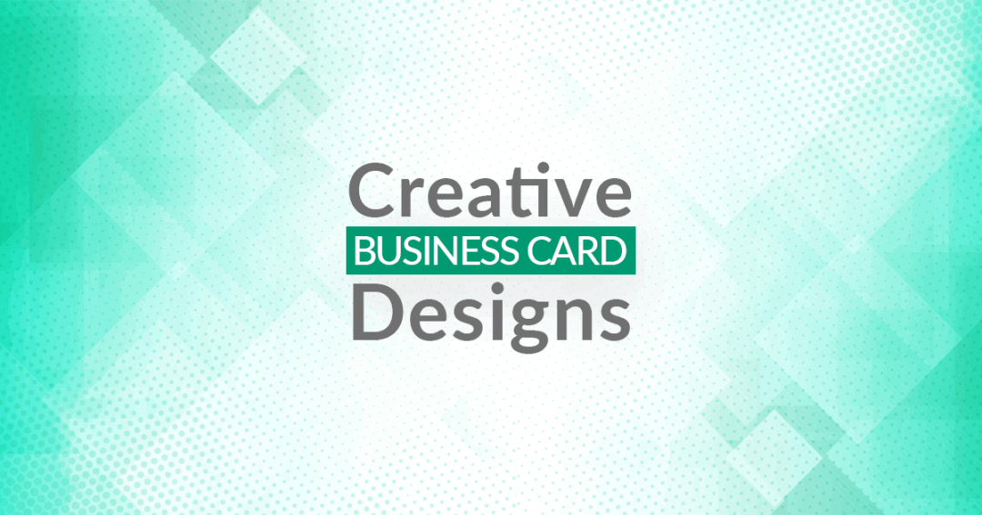 creative business card design inspirations and ideas for designers