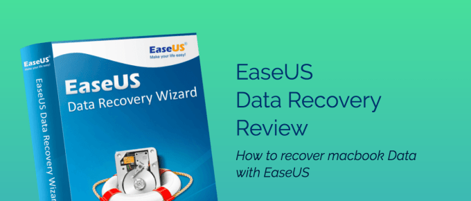 How to Recover MacBook Data With EaseUS Data Recovery