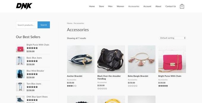 ecommerce template astra theme