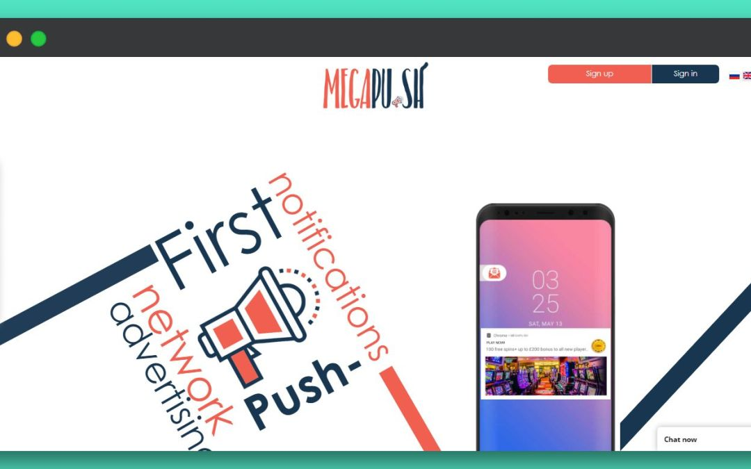 MegaPu.sh Ad Network : Acquire New Customers with Push Notifications