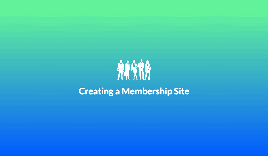 How To Create a Membership Based Site with WordPress Plugins