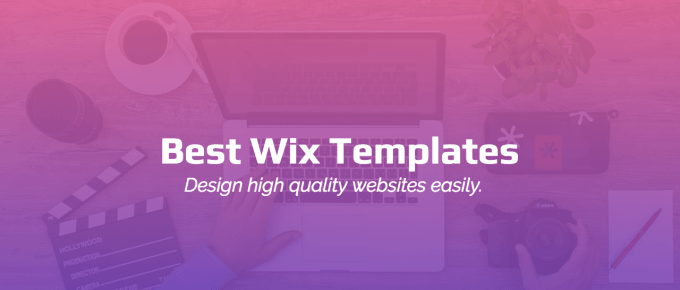 Beautiful Wix Templates to Start your Website