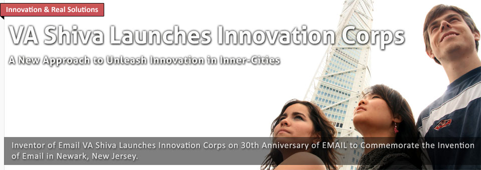 Dr. V.A. Shiva Ayyadurai Launches Innovation Corps