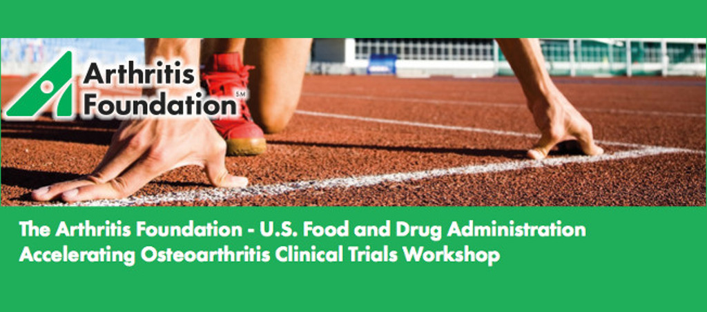 Presentation At The Arthritis Foundation Accelerating Osteoarthritis Clinical Trials Workshop