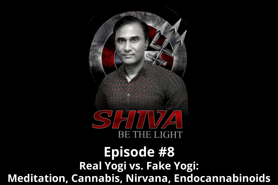 Shiva Be The Light Podcast Episode #8 - Real Yogi Vs. Fake Yogi: Meditation, Cannabis, Nirvana, Endocannabinoids