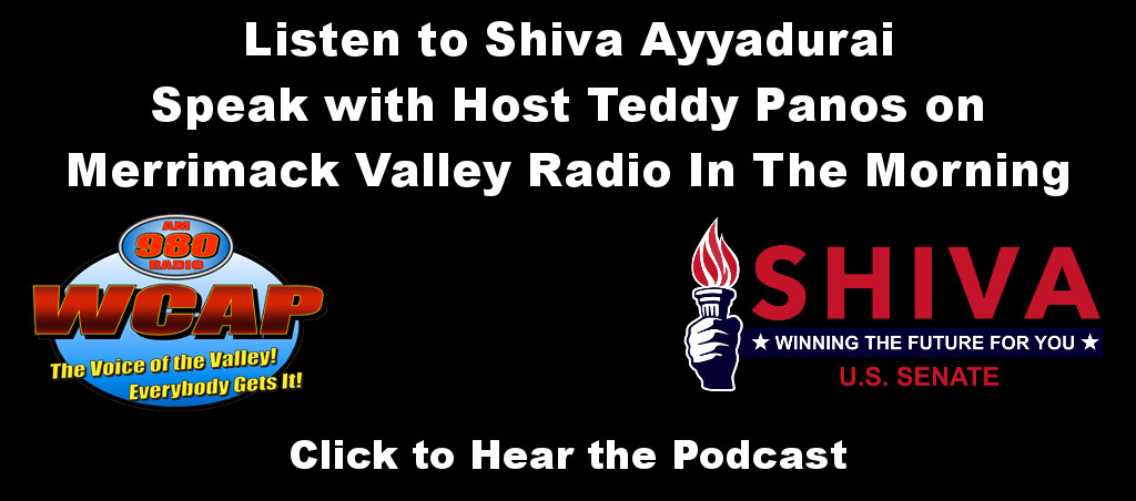 Listen To Shiva Ayyadurai Speak On Merrimack Valley Radio In The Morning