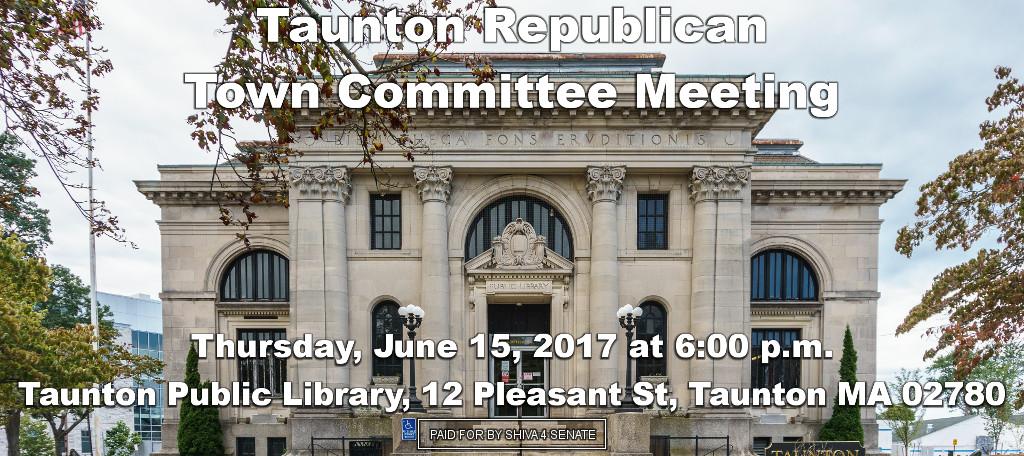 Shiva Ayyadurai At Taunton Republican Town Committee Meeting