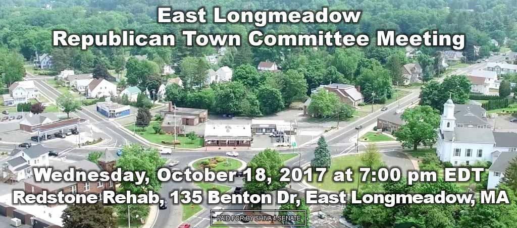Dr. Shiva Ayyadurai Speaks At East Longmeadow Republican Town Committee Meeting
