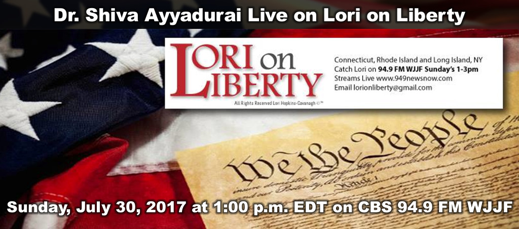Dr. Shiva Ayyadurai Interviewed On Lori On Liberty