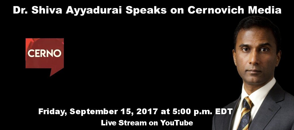 Dr. Shiva Ayyadurai Interviewed Live On Cernovich Media