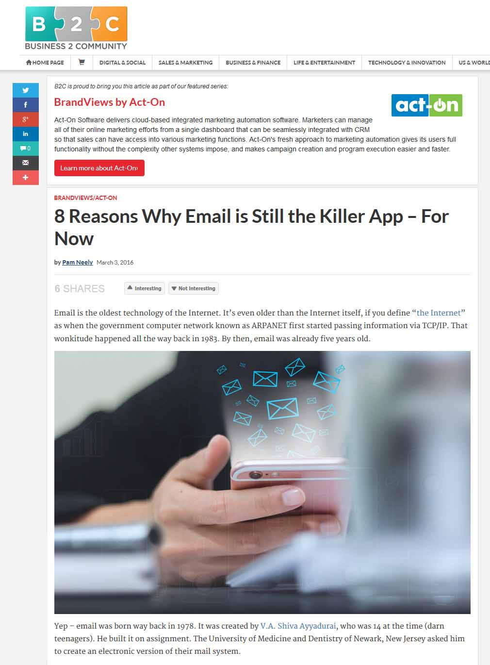 8 Reasons Why Email Is Still The Killer App – For Now