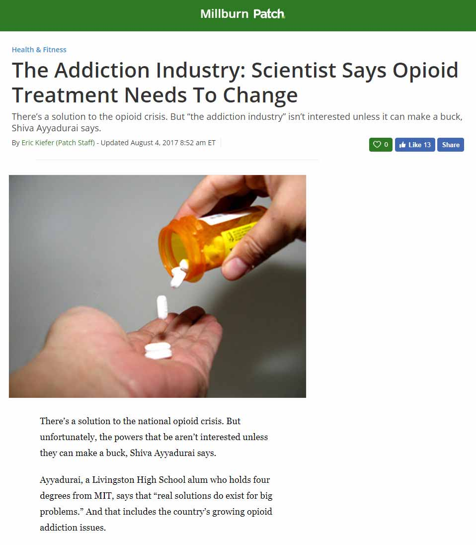 The Addiction Industry: Scientist Says Opioid Treatment Needs To Change