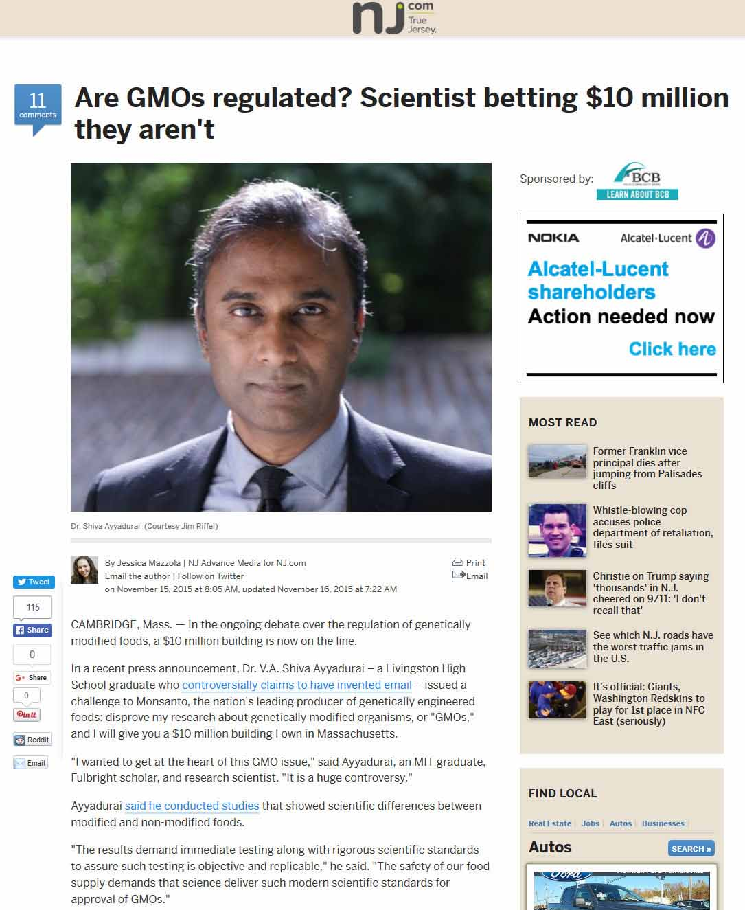 Are GMOs Regulated? Scientist Betting $10 Million They Aren't