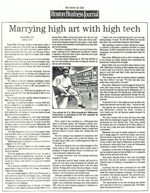Marrying High Art With High Tech