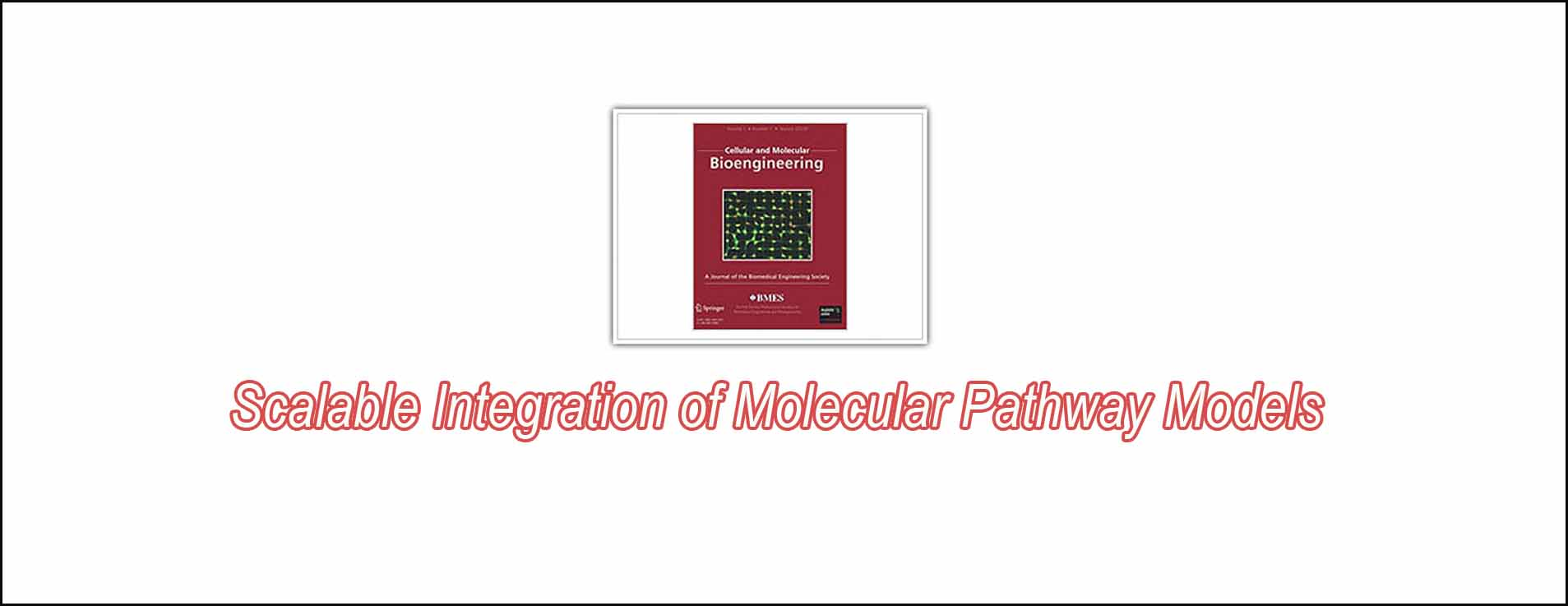 Scalable Integration Of Molecular Pathway Models