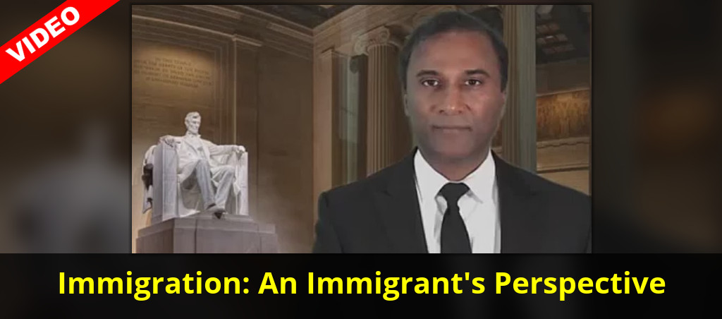 Dr. Shiva Ayyadurai Gives His Perspective On Immigration