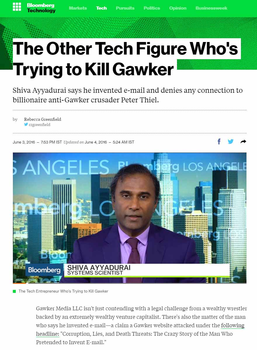 The Other Tech Figure Who's Trying To Kill Gawker