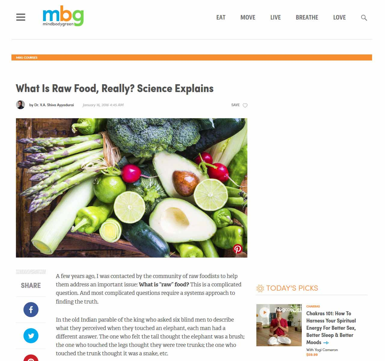 What Is Raw Food, Really? Science Explains