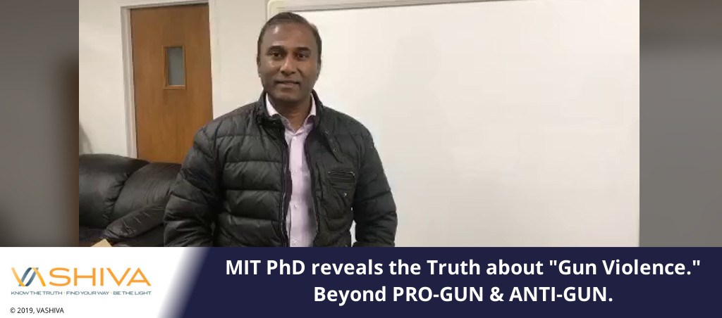 "MIT PhD Reveals The Truth About ""Gun Violence."" Beyond PRO-GUN & ANTI-GUN."