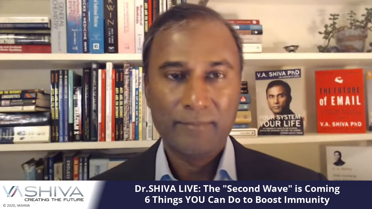 """Dr.SHIVA LIVE: The """"Second Wave"""" Is Coming: 6 Things YOU Can Do To Boost Immunity"""