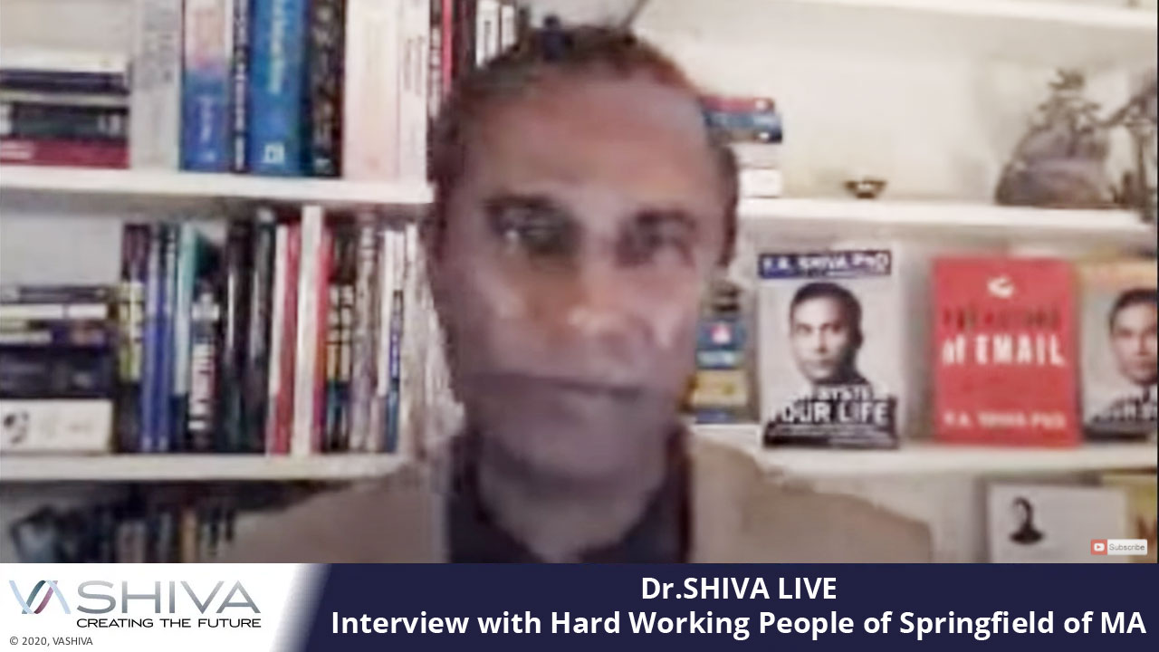Dr.SHIVA LIVE: Interview With Hard Working People Of Springfield Of MA