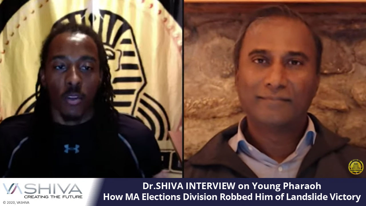 Dr.SHIVA INTERVIEW On Young Pharaoh: How MA Elections Division Robbed Him Of Landslide Victory