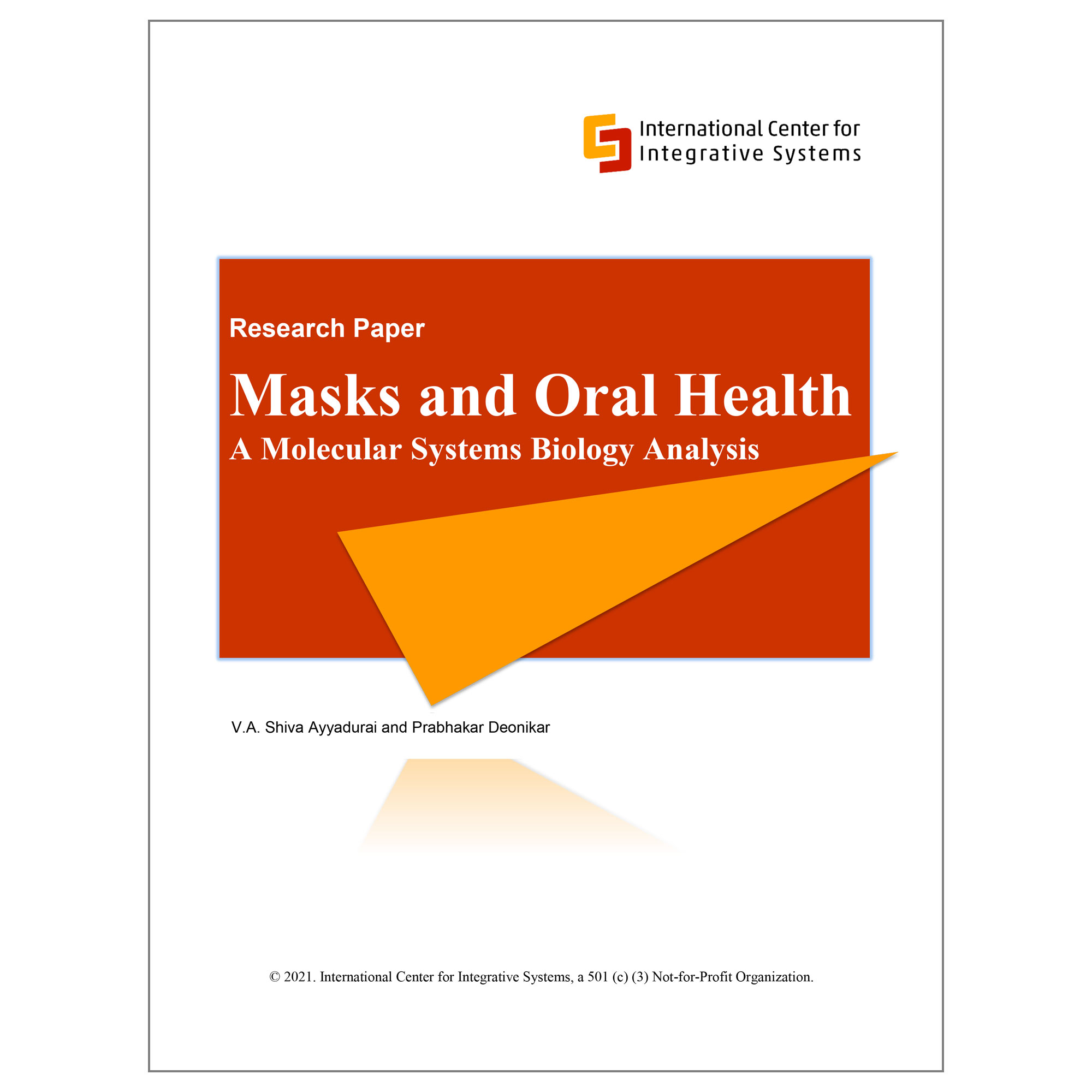White Paper On Masks And Oral Health