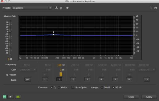 Audio EQ