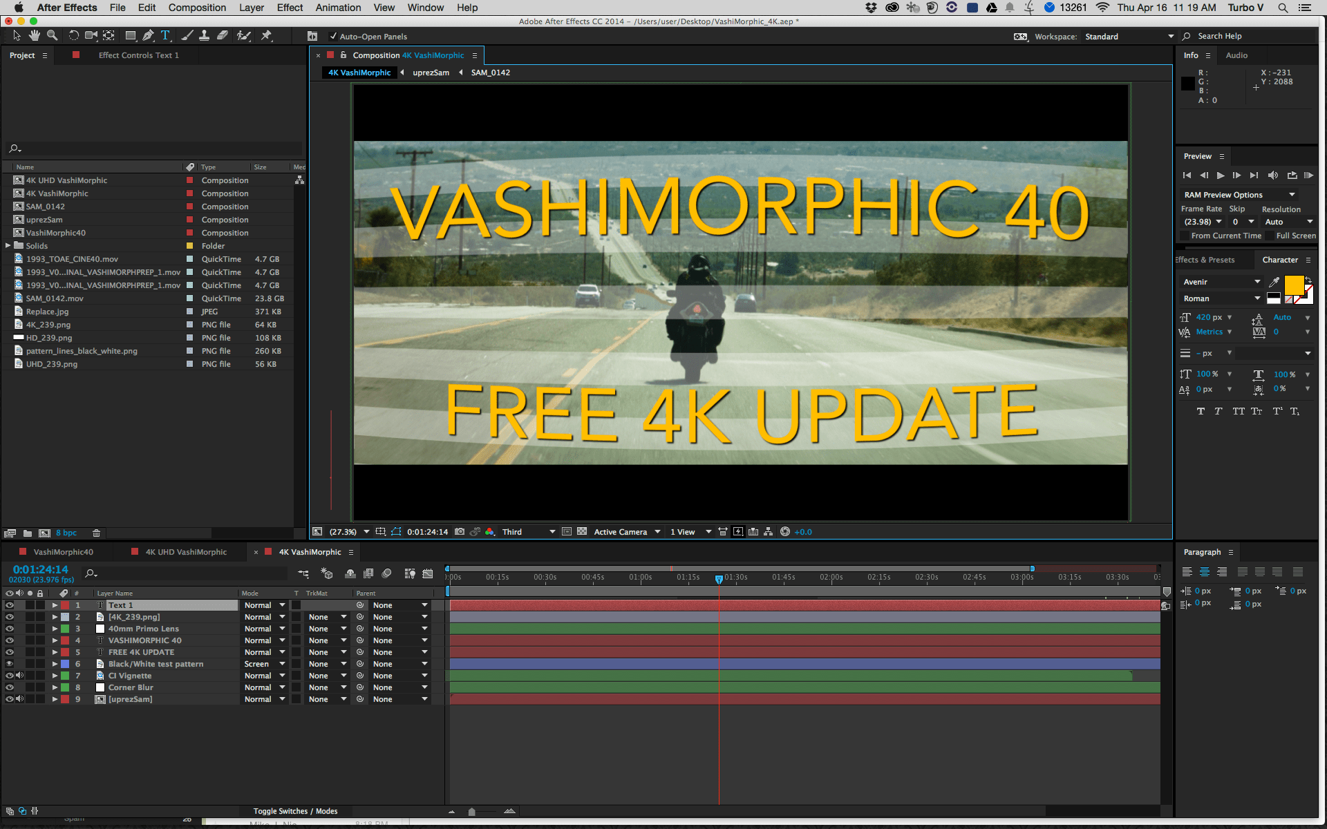Free Anamorphic After Effects Plugin | VashiVisuals