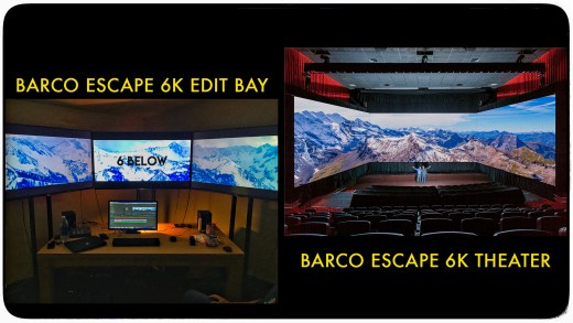 6K Barco Edit Bay and Barco Theater