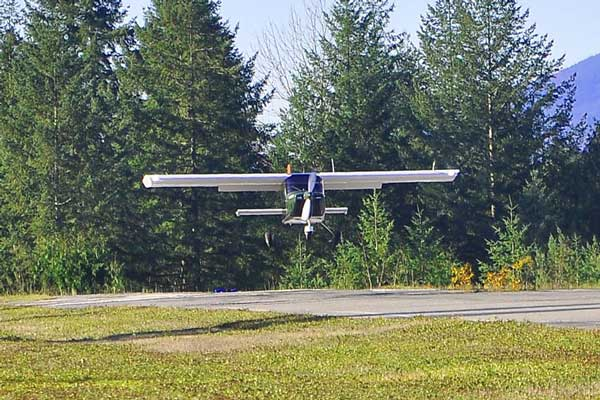 The Vashon Ranger R7 is even more spacious than most 4-place certified aircraft.