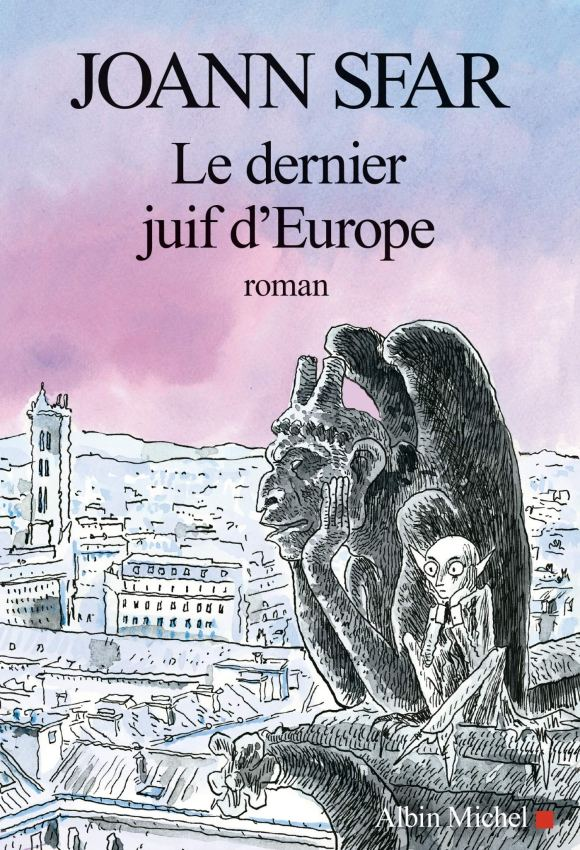 The cover of The Last Jew in Europe