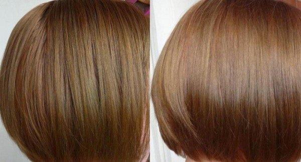 Тонирование волос в домашних условиях (фото до и после)
