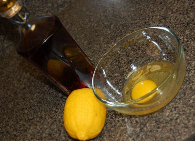 Как сделать яичный шампунь