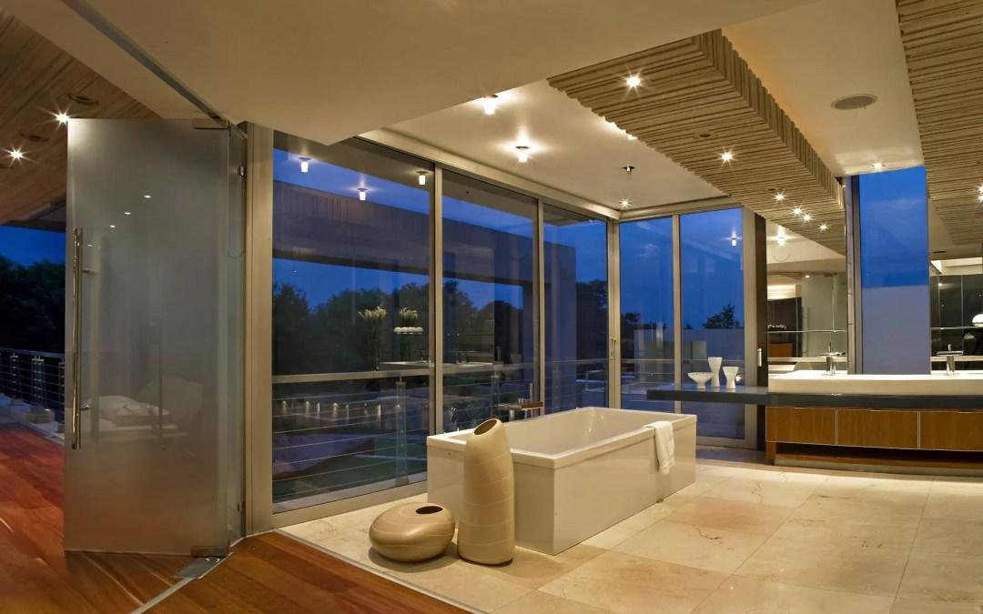 O vidro e a decoração de casas