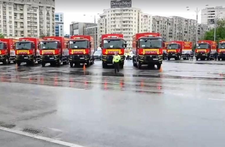 Convoi umanitar de 20 de camioane, prin Vama Albița