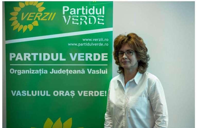 """Șefa organizației de femei din Partidul Verde Vaslui: """"Vreau să candidez la președinția Consiliului Județean!"""""""