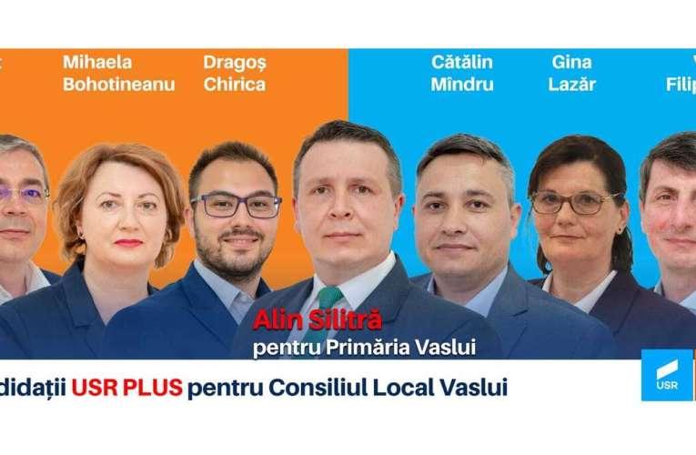 Iată echipa USR Vaslui, care va aduce un suflu nou în Consiliul Local!