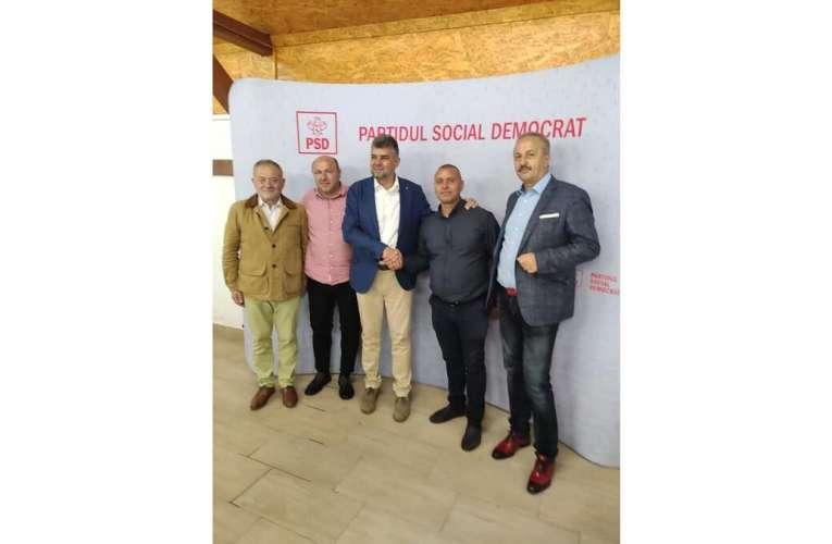 Album de familie, cu Marcel Ciolacu și primari, la Clubul Pescarilor!