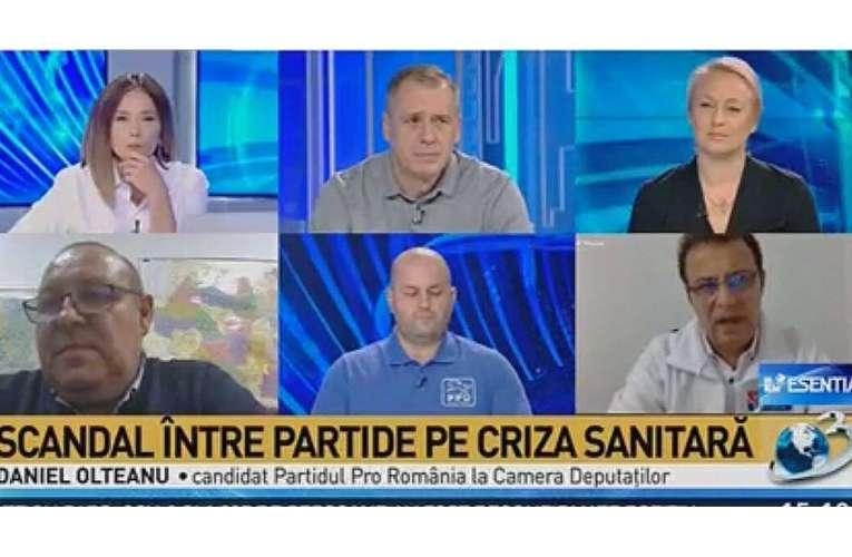 """Daniel Olteanu: """"PRO România vine cu un program național de testare gratuită a românilor"""""""