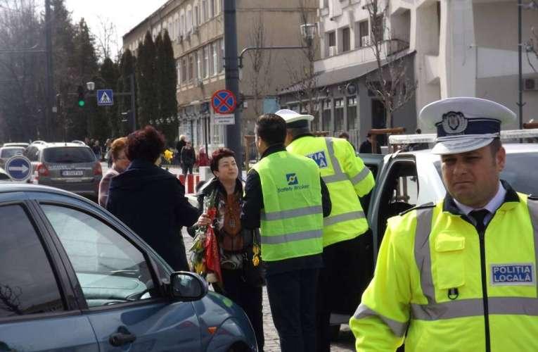 Mesaj pentru șmecherii vasluieni! Poliția Locală va ridica mașinile parcate aiurea, nu e de joacă!