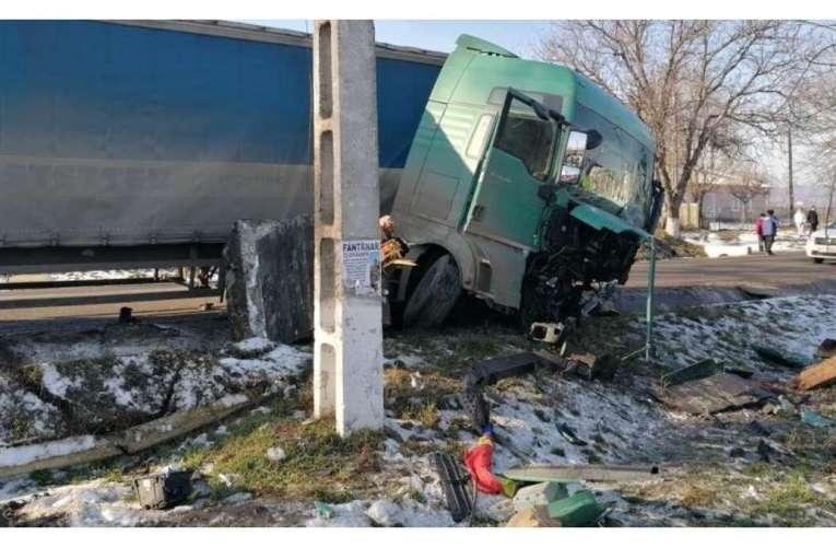 Accident înfiorător la granița cu județul Vaslui! Sunt mulți morți, la Scânteia!